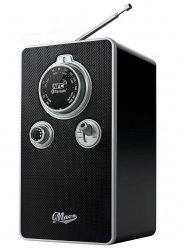 fm radio med bluetooth - sort - Tv Og Lyd