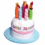 fødselsdagshat med lagkage - Udklædning