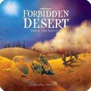 forbidden desert: thirst for survival - brætspil - engelsk - Brætspil