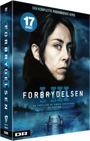 forbrydelsen dvd box den komplette boks - sæson 1-3 - DVD