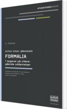 formalia i opgaver på videregående uddannelser - bog