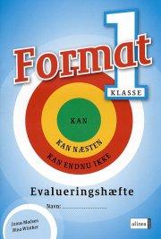 format 1.kl. evalueringshæfte - bog