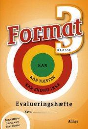 format 3.kl. evalueringshæfte - bog