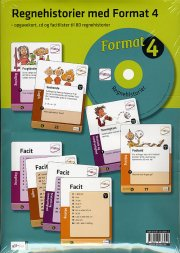 format 4.kl. regnehistorier med cd - bog
