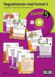 format 5, regnehistorier med cd - bog