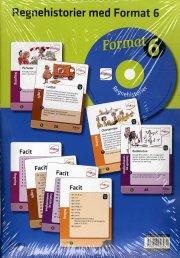 format 6, regnehistorier med cd - bog