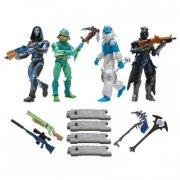 fortnite merchandise figurer - squad mode - 10 cm 4-pak - Figurer