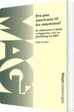 fra pax americana til lex americana? - bog