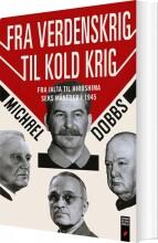 fra verdenskrig til kold krig - bog
