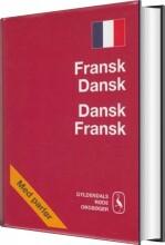 fransk-dansk/dansk-fransk ordbog - bog