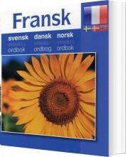 fransk - svensk, dansk, norsk - bog