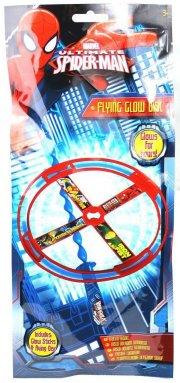 frisbee marvel spiderman med knæklys - 13 cm - Udendørs Leg