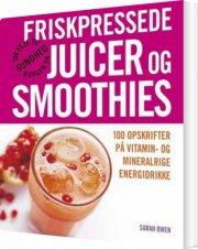 friskpressede juicer og smoothies - bog