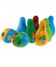 frø og venner bowlingspil / bowlingsæt - Udendørs Leg