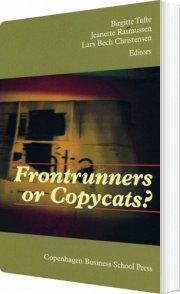 frontrunners or copycats? - bog