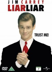 fuld af løgn / liar liar - DVD