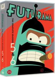 futurama - sæson 5 og 6 - DVD