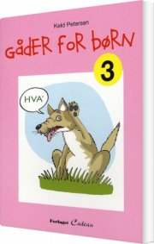 gåder for børn, 3 - bog