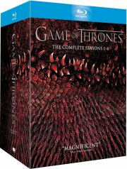 game of thrones - sæson 1-4 - hbo - Blu-Ray