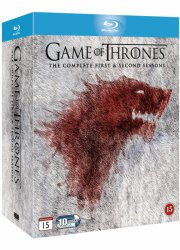 game of thrones - sæson 1 + 2 - hbo - Blu-Ray