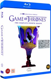 game of thrones - sæson 4 - hbo - robert ball limited edition - Blu-Ray