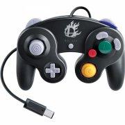 gamecube controller til wii - super smash bros edition - sort - Konsoller Og Tilbehør