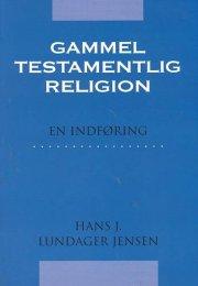 gammeltestamentlig religion - bog