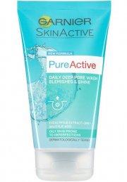 garnier ansigtsvask - pure active deep pore wash 150 ml - Hudpleje