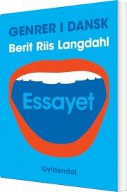 genrer i dansk - essayet - bog