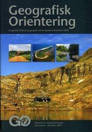 geografisk orientering årsskrift 2008 - bog