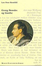 georg brandes og goethe - bog