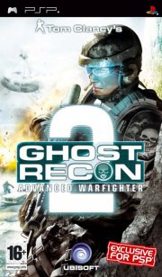 ghost recon: advanced warfighter 2 - psp