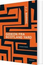 gideon fra scotland yard - bog
