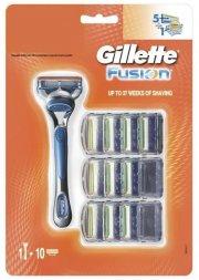 gillette - barberskraber + 10 blade - Hudpleje