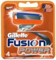 gillette fusion power barberblade og barberskraber - 4 blade - Hudpleje