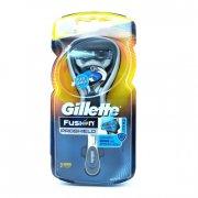 gillette fusion pro shield chill razor barberskraber sæt med 2 stk. barberblade - Hudpleje