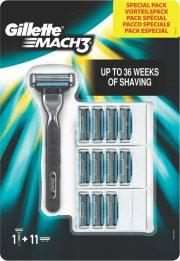 gillette - mach 3 barberskraber + 11 blade - Hudpleje