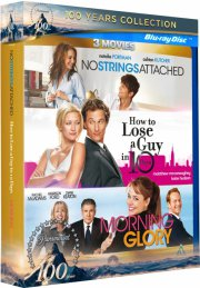 no strings attached // morning glory // how to loose a guy in 10 days - Blu-Ray