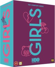 girls - sæson 1-6 - komplet boks - hbo - DVD