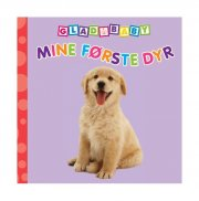 glad baby - mine første dyr - bog