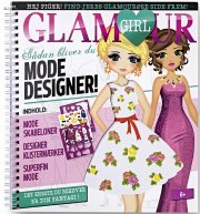 glamour girl - modedesigner - bog
