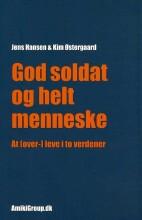 god soldat og helt menneske - bog