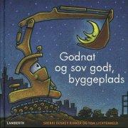godnat og sov godt, byggeplads - bog