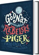 godnathistorier for rebelske piger - bog