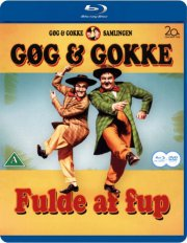gøg og gokke - fulde af fup  - Blu-Ray + Dvd