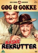 laurel and hardy - great guns / gøg og gokke - raske rekrutter - DVD