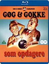 gøg og gokke - som opdagere  - Blu-Ray + Dvd