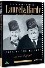 gøg og gokke - ud på galejen / laurel and hardy - sons of the desert - DVD