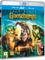 goosebumps  - 3D + 2D Blu-Ray