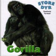 store dyr - gorilla - bog